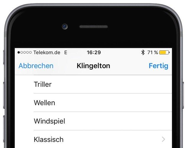 iPhone Telefon Klingeln Klingelton ändern personalisieren individuell anpassen bearbeiten 2