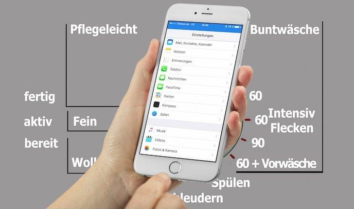 iPhone iOS9 Einstellung suchen Suchfunktion neu 1
