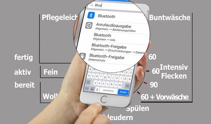 iPhone iOS9 Einstellung suchen Suchfunktion neu 2