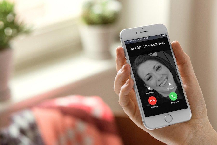 iPhone iOS9 Kontakt Foto Kontaktbild Bild anzeigen bearbeiten inzufügen Anruf 4