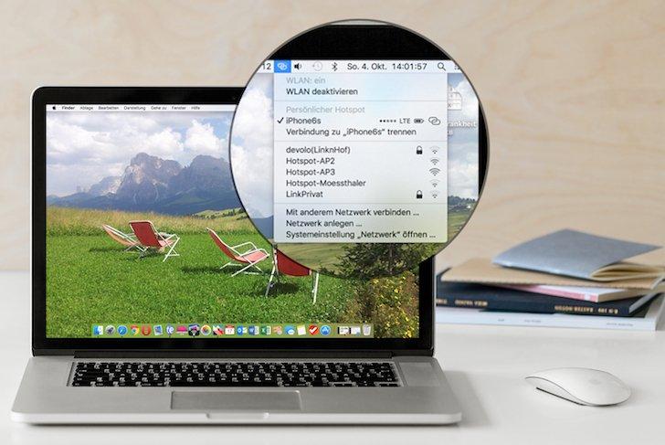 iPhone iPad Router Persönlicher Hotspot einstellen verbinden Fritz!Box FritzBox 2