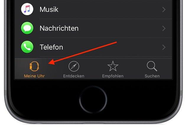 Apple Watch Eigene Fotos als Hintergrundbild verwenden 1