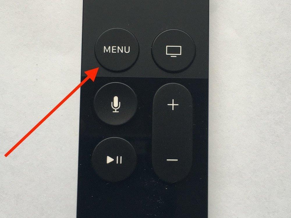 Apple TV 4. Generation Siri Fernbedienung App löschen 1
