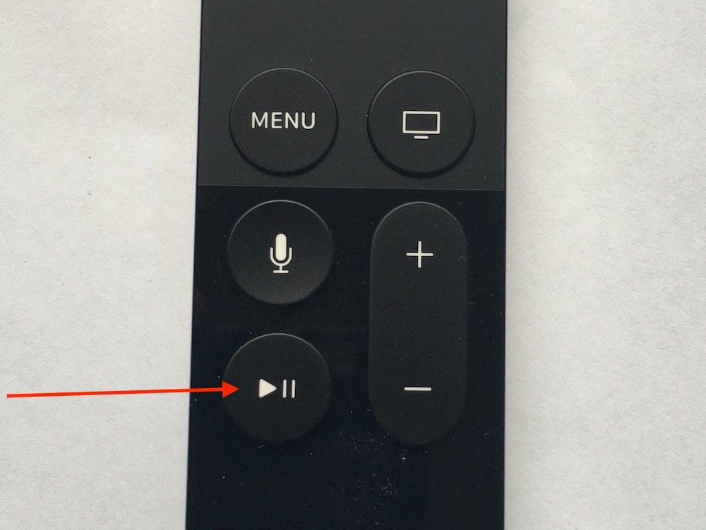 Apple TV 4. Generation Siri Fernbedienung App löschen 2
