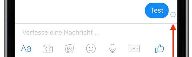 Facebook Messenger-Symbole verstehen interpretieren 1