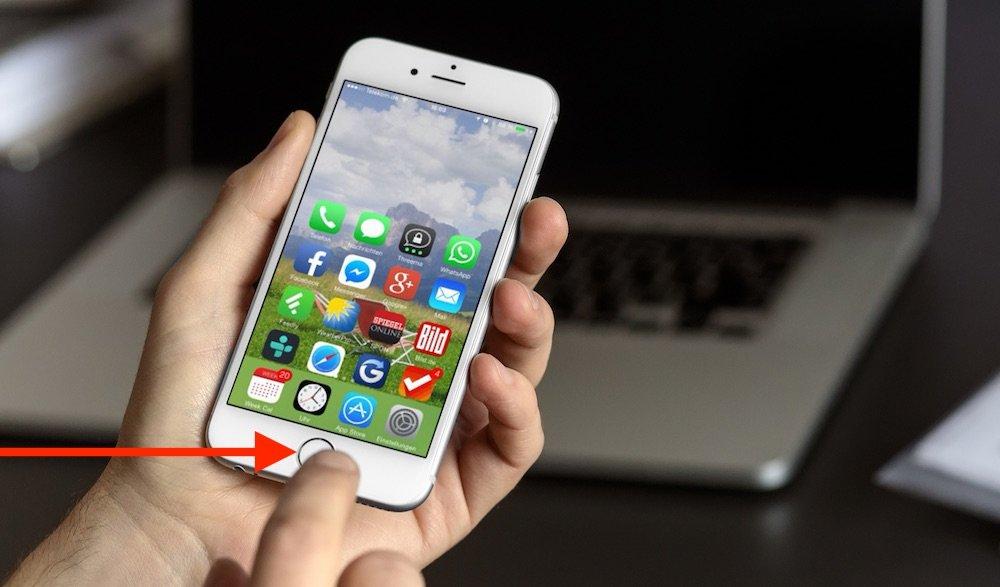 iPhone 6 mit einer Hand bedienen 1