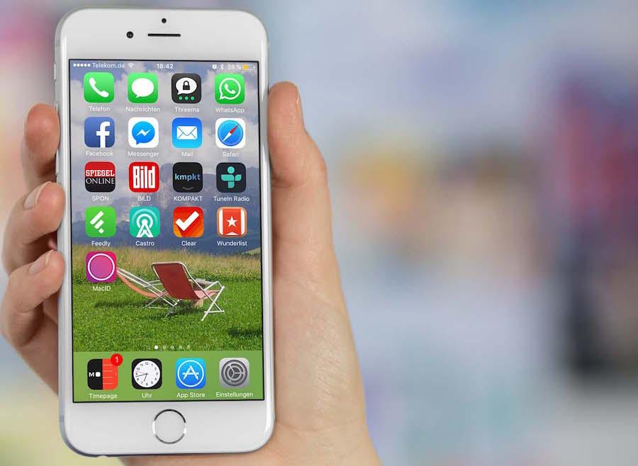 iPhone App organisieren Homescreen löschen anordnen sortieren 1