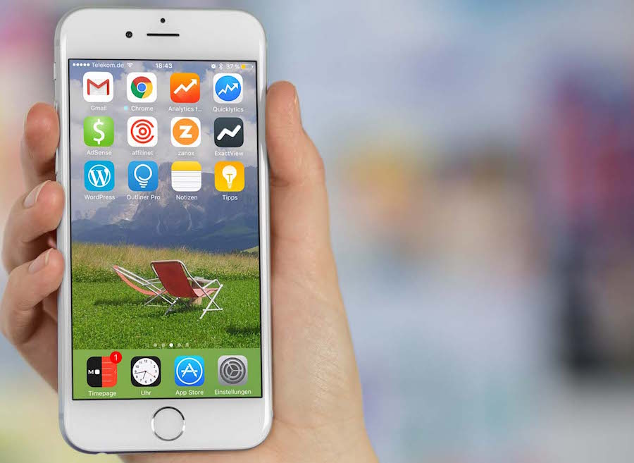 iPhone App organisieren Homescreen löschen anordnen sortieren 3