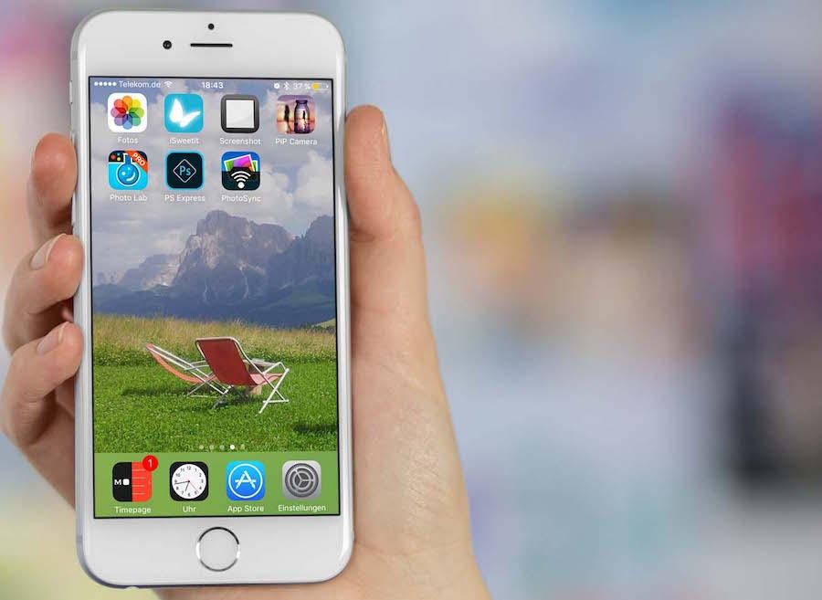 iPhone App organisieren Homescreen löschen anordnen sortieren 4