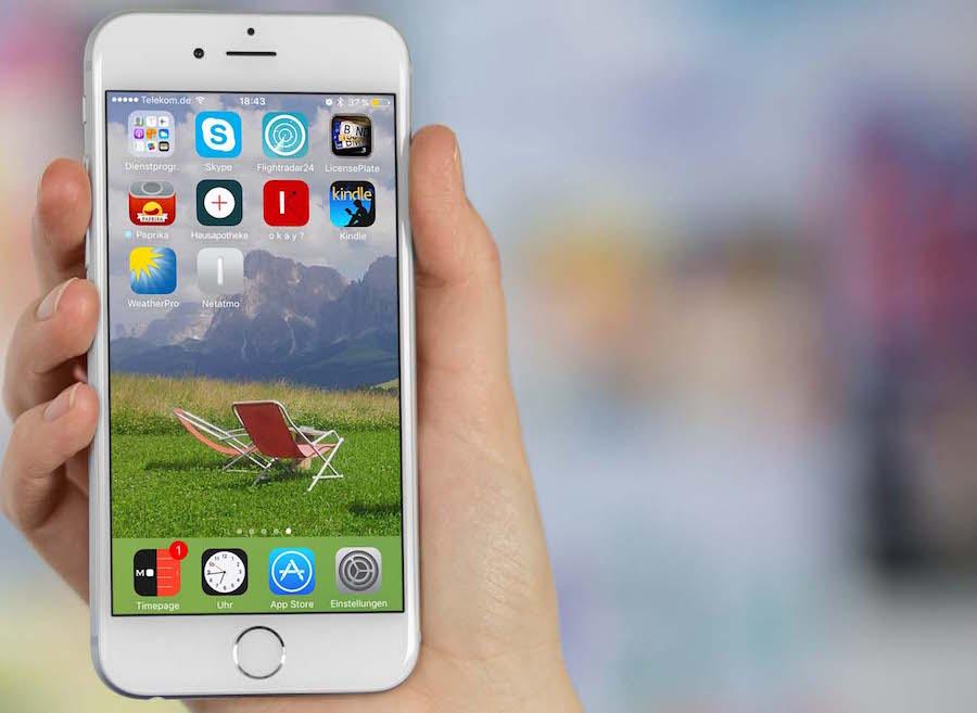 iPhone App organisieren Homescreen löschen anordnen sortieren 5