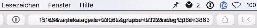 Safari Mac Probleme URL Eingabe, Absturz Maus markieren 1