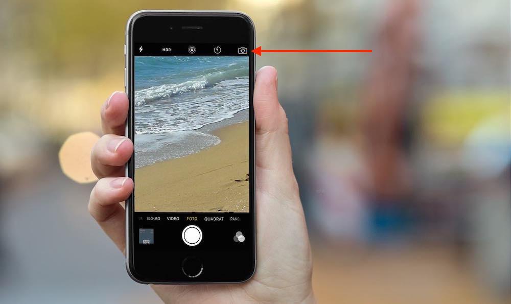 Selfie leicht gemacht mit iPhone-Frontkamera 2