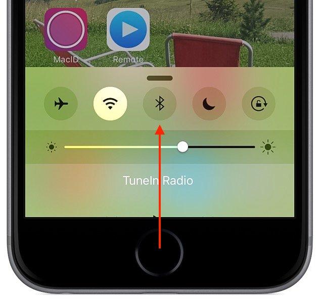 iPhone Strom sparen Bluetooth aktivieren deaktivieren einschalten ausschalten 2