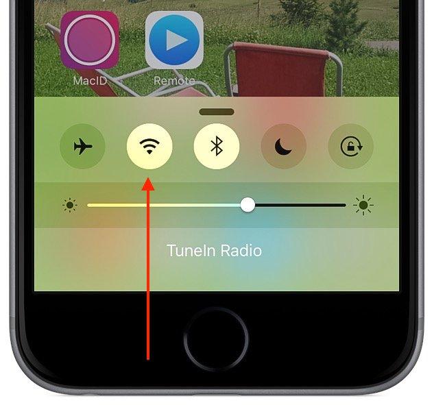 iPhone Strom sparen an WLAN Funktion 2