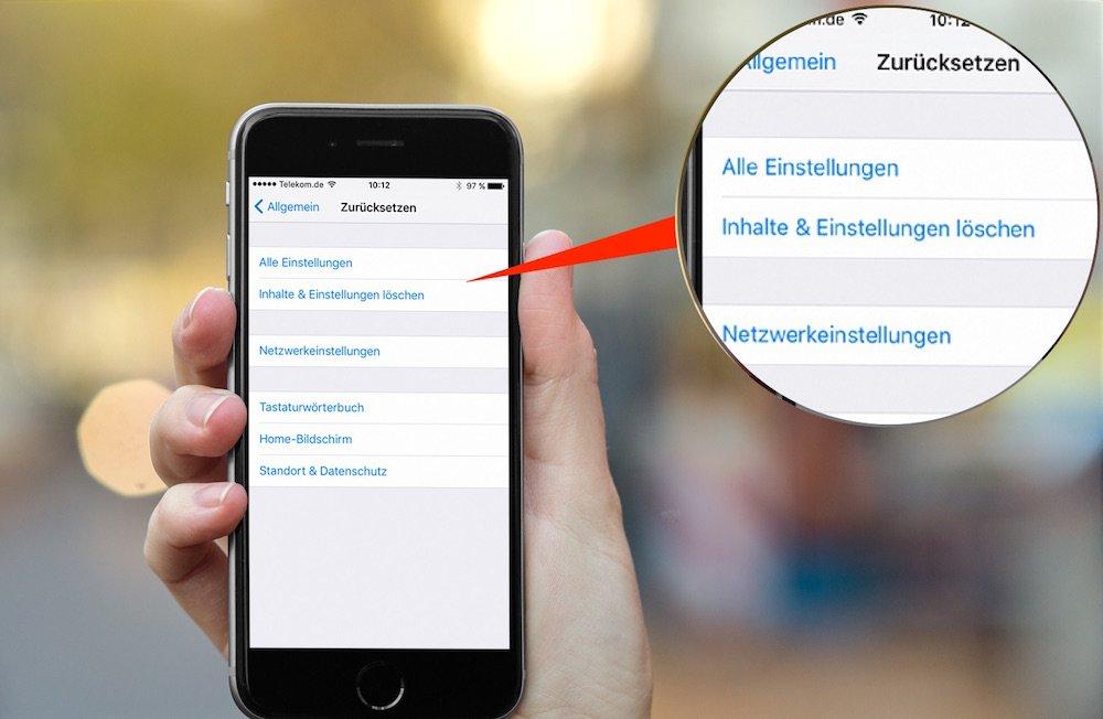 iPhone im WLAN- Verbindungsproblem beheben 1