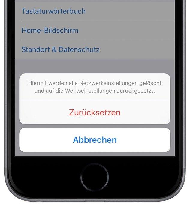 iPhone im WLAN- Verbindungsproblem beheben 3