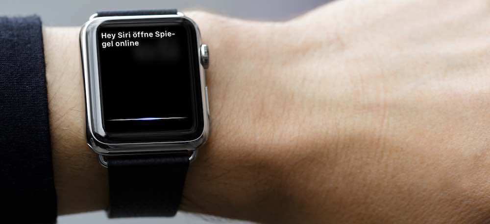 App Apple Watch Siri starten 1