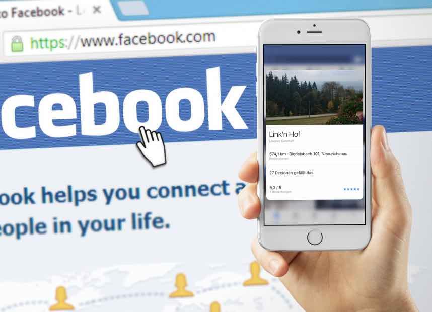 Facebook App iPhone 6s Peek und Pop 2