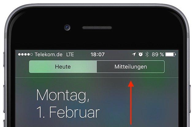 Mitteilungszentrale iPhone aufräumen Tipps Tricks 1