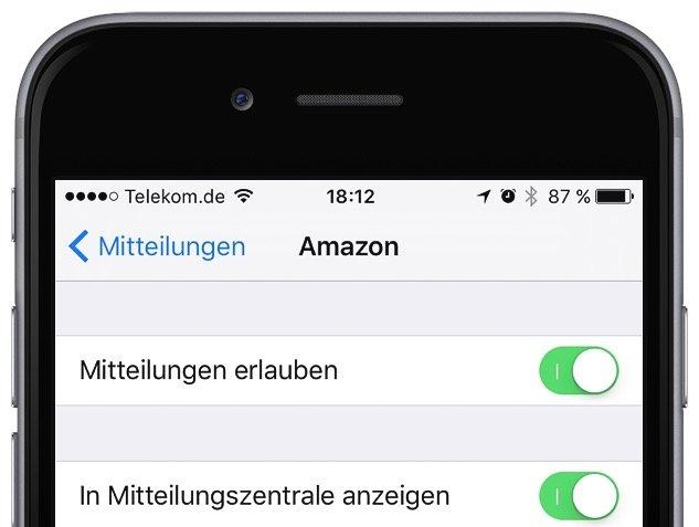 Mitteilungszentrale iPhone aufräumen Tipps Tricks 2
