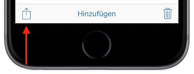 iPhone Foto versenden 3