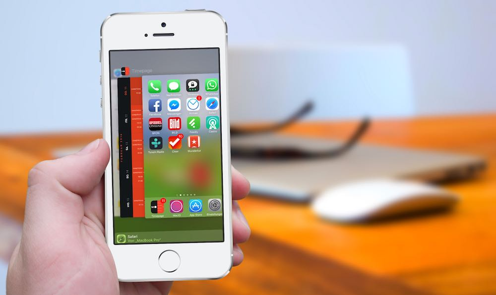 iPhone Multitasking 3D Touch Task Manager App Switcher BB