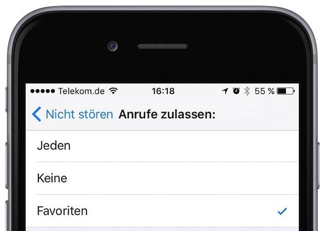 iPhone Nicht stören Flugmodus einrichten 4