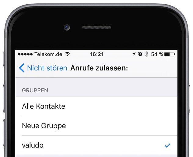 iPhone Nicht stören Flugmodus einrichten 5