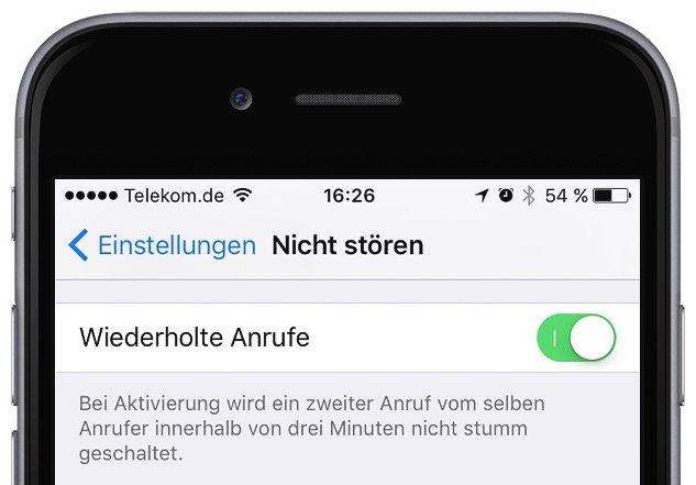 iPhone Nicht stören Flugmodus einrichten 6