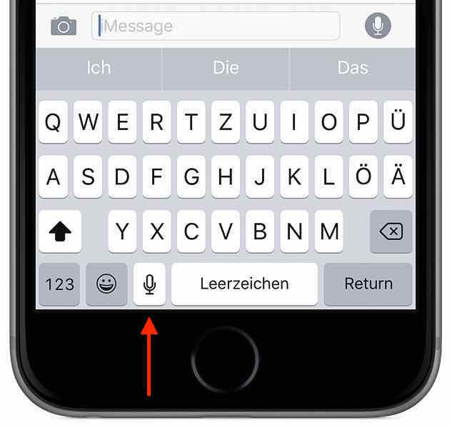 text iphone transkribieren sprache wort 2