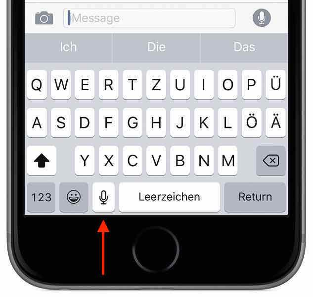 text am iphone transkribieren aus sprache wird wort. Black Bedroom Furniture Sets. Home Design Ideas
