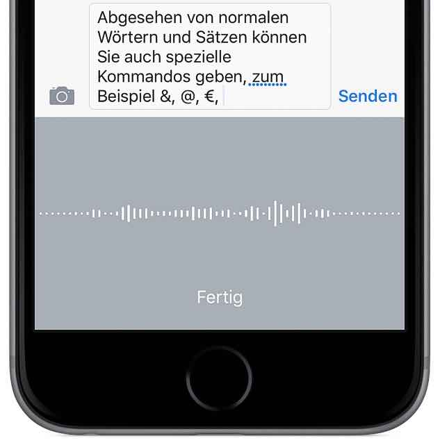 text iphone transkribieren sprache wort 3