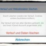 iPhone,Daten,Datenschutz,Einstellungen,Sicherheit,Überwachung,Verlauf,Cookies,löschen 2