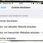 iPhone,Daten,Datenschutz,Einstellungen,Sicherheit,Überwachung,Verlauf,Cookies,löschen,blockieren 2