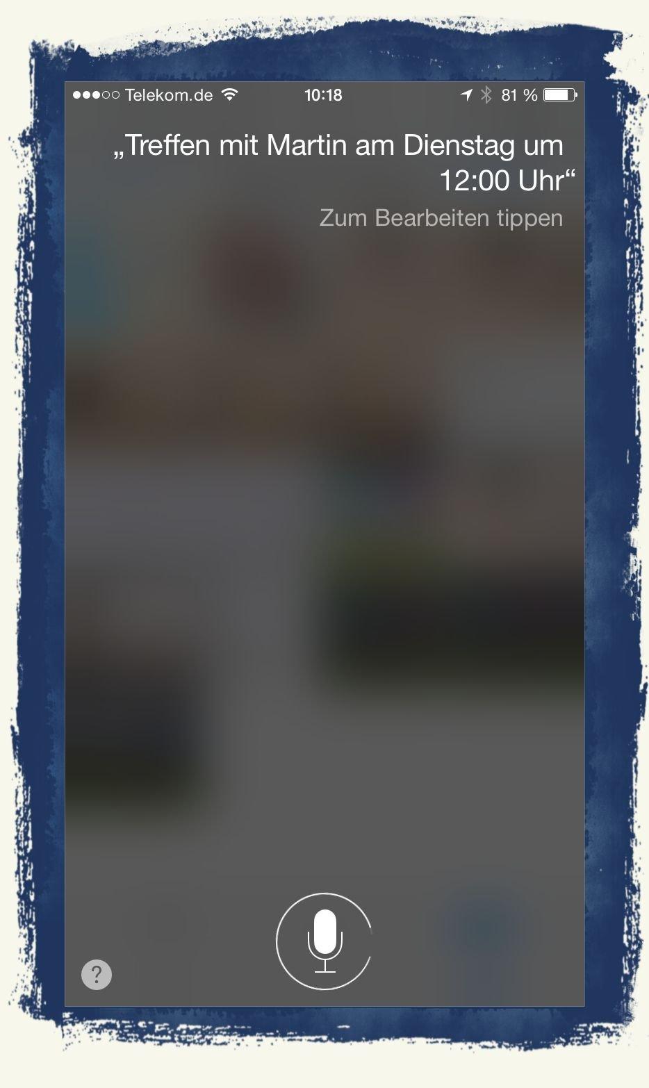 iPhone,iPhone6,iPhone 6, Apple,Siri,Sprachsteuerung,Sprachbefehl,Homebutton 1