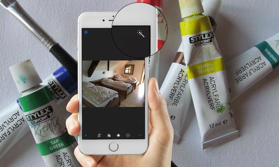 iPhone Apple Foto bearbeiten aufhellen abdunkeln Farben ändern Vergleich vorher nachher 2