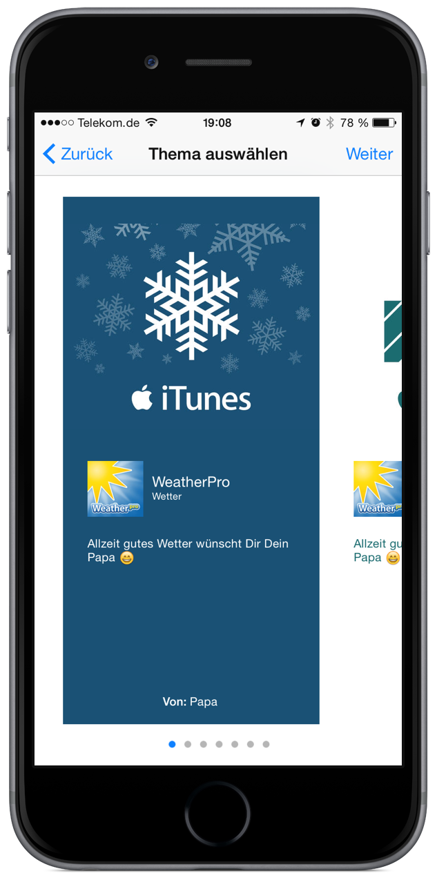 Store Apple iTunes verschenken schenken Geschenk Programm 5