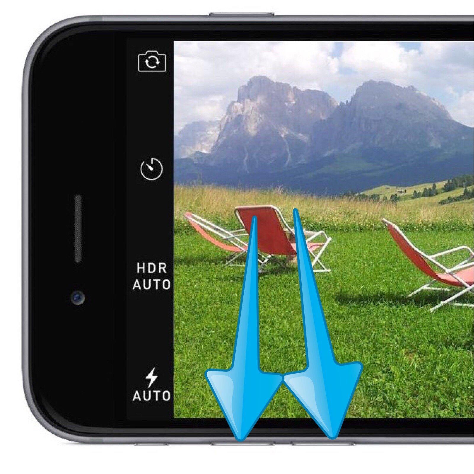 Apple-auslösen-Foto-iPhone-Kamera-Lautstärke-Taste ...