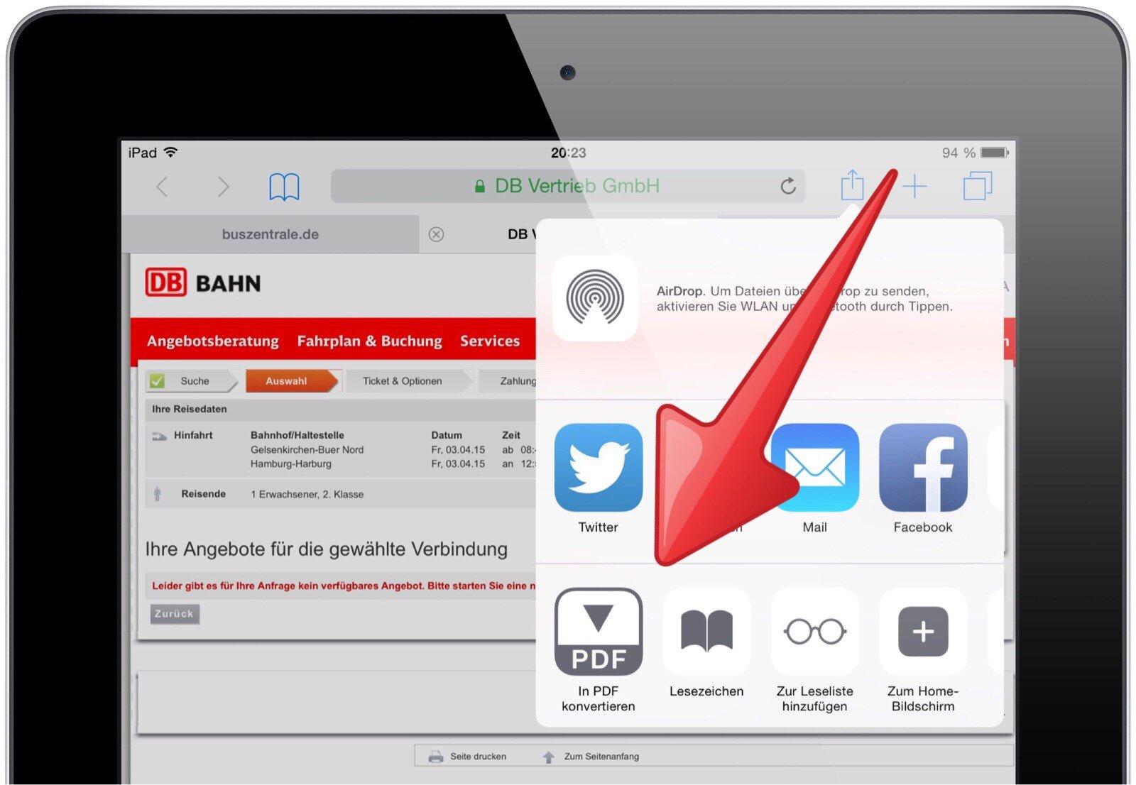 iPad-kontextabhängig-situationsabhängig-Aktion-Symbol-Menü-Twitter-Facebook-drucken-Nachrichten-Mail-Lesezeichen-2.jpg
