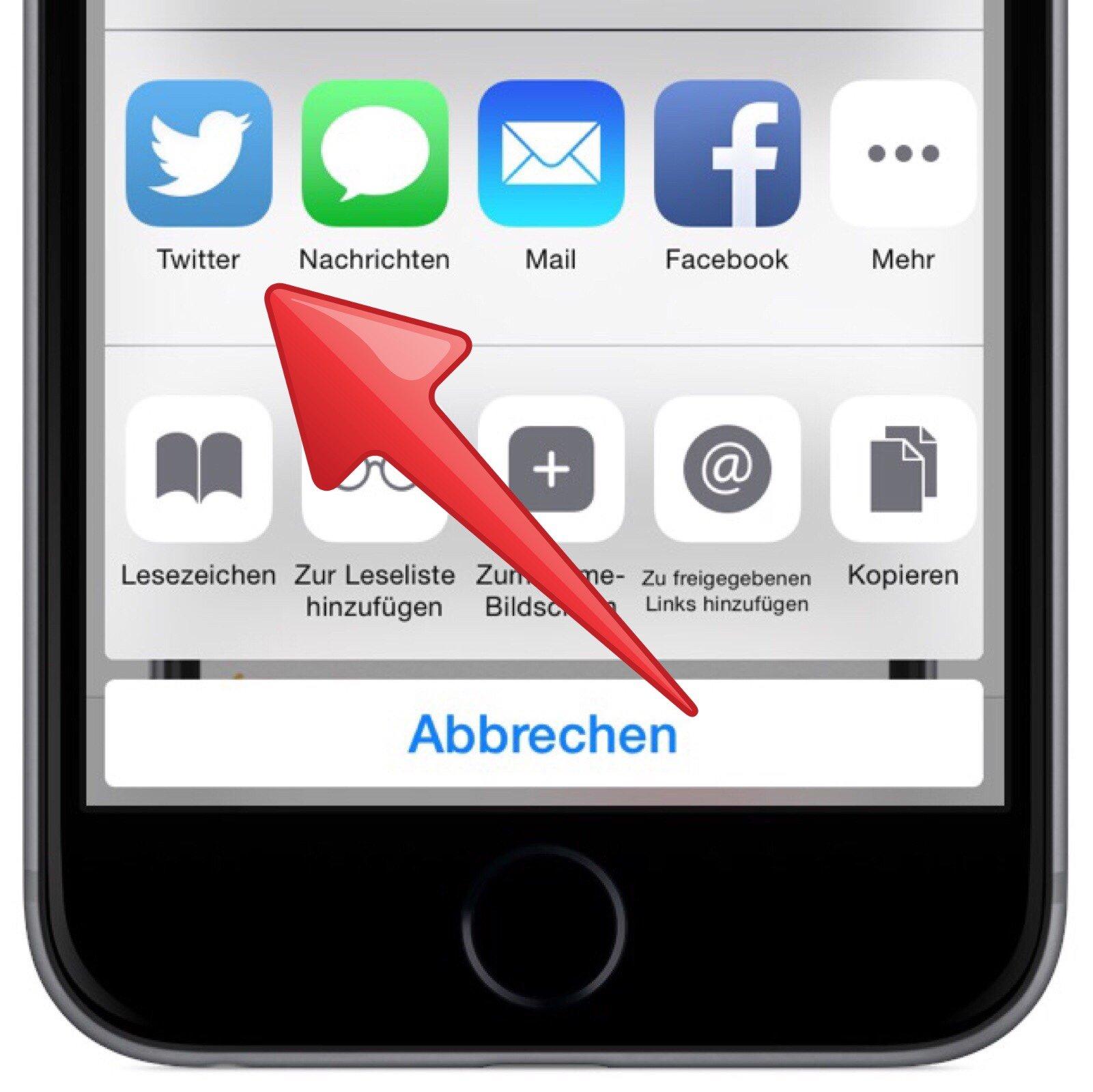 iPhone-kontextabhängig-situationsabhängig-Aktion-Symbol-Menü-Twitter-Facebook-drucken-Nachrichten-Mail-Lesezeichen-2.jpg