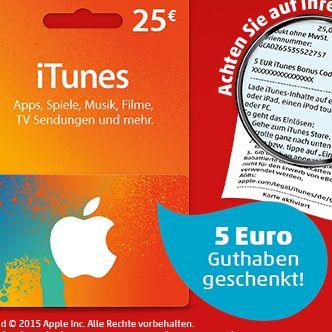 Itunes Guthaben 5 Euro