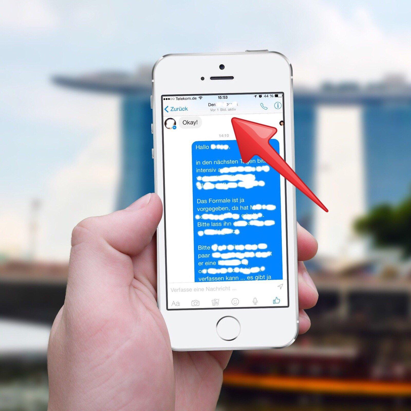 Facebook Messenger auf dem iPhone: Tipp zur Zuletzt aktiv