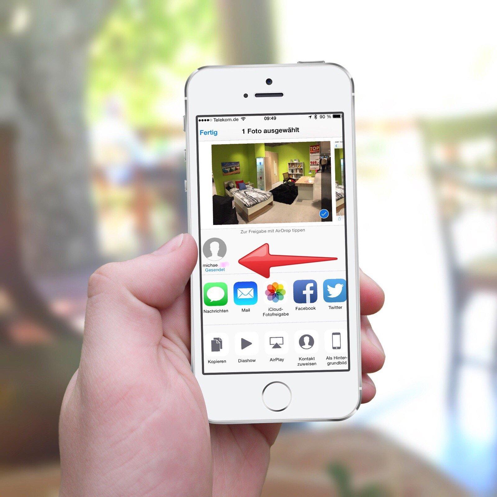 Bilder Übertragen Iphone Airdrop