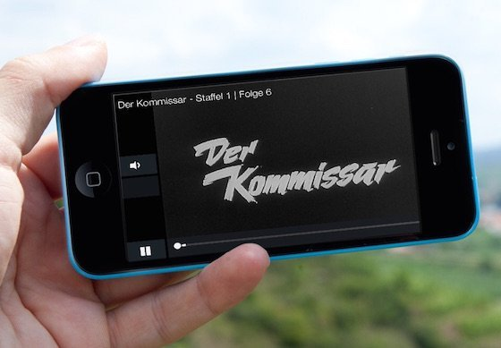 Maxdome Monatspaket App iPhone iPad Android Smartphone Fernseher Entertain Smart-TV AppleTV VoD Video on Demand Videothek Konsole 1
