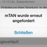 Packstation Android iOS iPhone iPad Smartphone DHL Paket App mTAN 8
