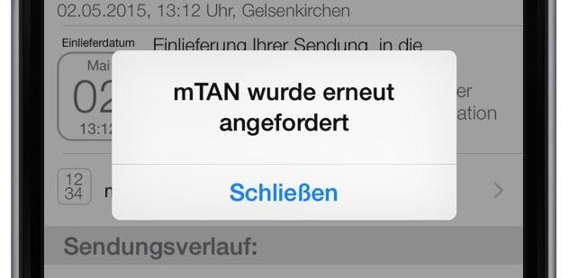 Packstation Karte Gesperrt.Packstation Mtan Neu Anfordern Mit Smartphone App Mobil Ganz