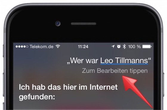 Siri iPhone Kommando ändern Sprachkommando Störgeräusche undeutlich verbessern 3