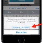 iPhone Safari speichert Kennwort nicht mehr Keychain Schluesselbund Privat Modus 2