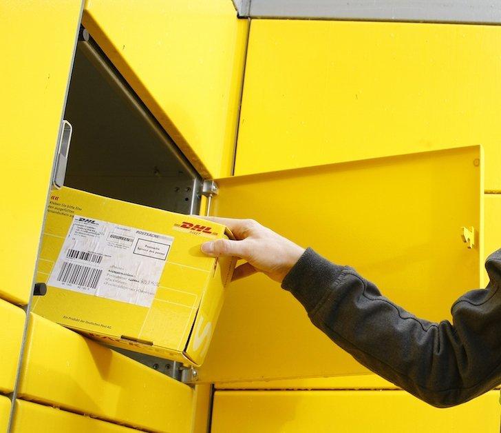 Packstation DHL Deutsche Post Fach nochmal öffnen Paket Päckchen Lieferung Sendung 4