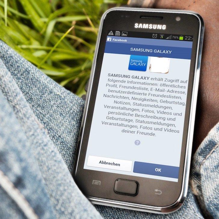 Samsung Android Facebook App langsam Freigabe posten Alternative 5 ZUGRIFF AUF FOLGENDE